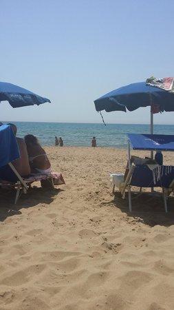 Le Dune Hotel: Spiaggia