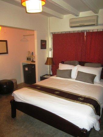 Pat's Klangviang: The room was small but comfortable