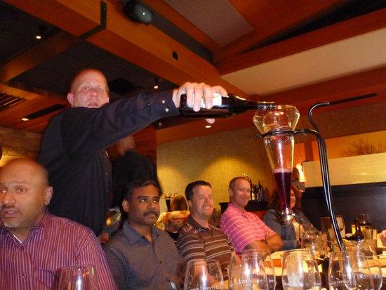 Cooper's Hawk Winery & Restaurant: Decanting the Wine