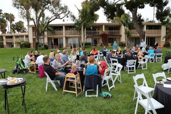Hilton San Diego Resort & Spa: South Lawn Dinner location