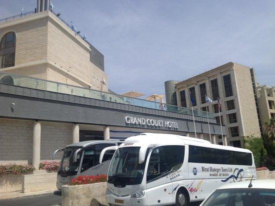 Grand Court Hotel : Fachada do Hotel