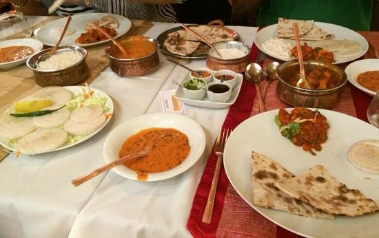 Passage To India : lovely spread