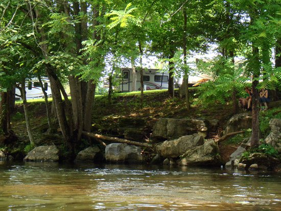 Smoky Mountain River Rat: Floating by Big Meadow Campground