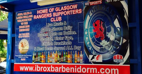 Ibrox Bar: Check it out !!