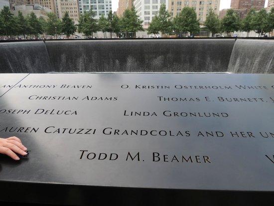 Mémorial du 11-Septembre : reflection pool