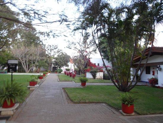Mision de Los Angeles: Área dentro do hotel, perto das acomodações
