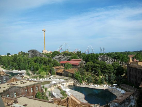 PortAventura Hotel Gold River: Вид на парк