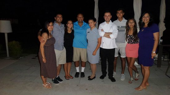 Anantara Vilamoura Algarve Resort : Dinner with Bruno the chef!