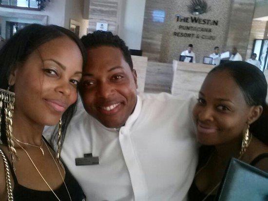 The Westin Puntacana Resort & Club: Sergio he was so pleasant and helpful