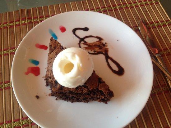 Barbella Restaurant: Chocolate Brownie