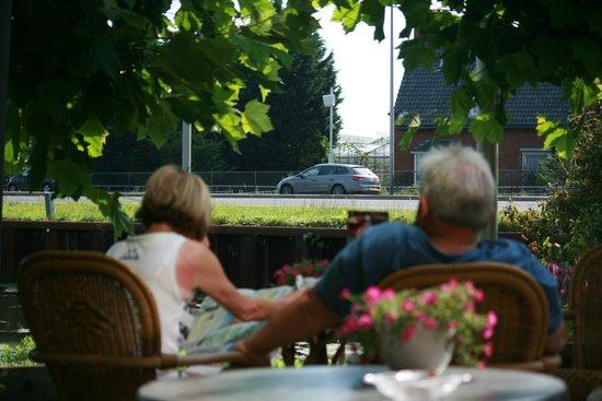 Fletcher Hotel: vue depuis la terrasse