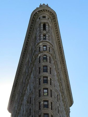 Detail of the Flatiron Building