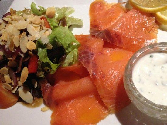 Restaurant Adelaide : smoked salmon starter