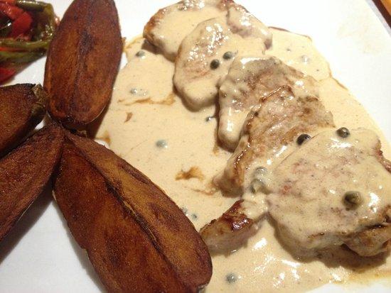 Restaurant Adelaide : had three pepper pork steaks
