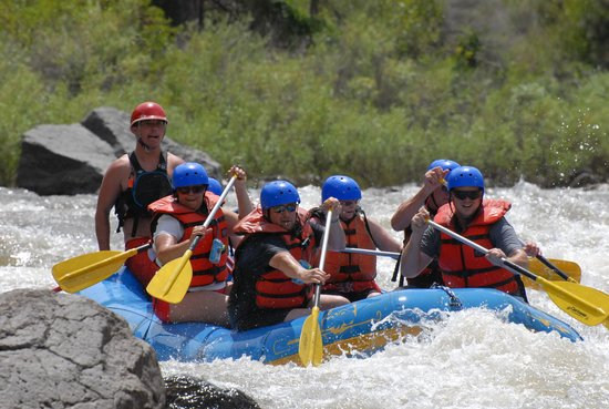 Lost Paddle Rafting: Great Family Fun