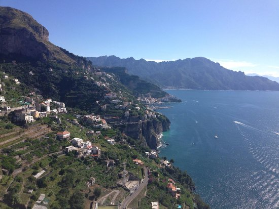 Monastero Santa Rosa Hotel & Spa : Our room view