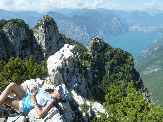 Monte Baldo: hiker's view