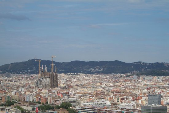 """Meliã Barcelona Sky: City view from """"the Level"""""""