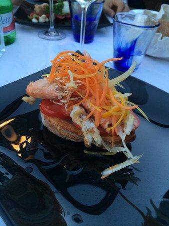 Restaurant Marina Grande: Antipastino per iniziare!!!