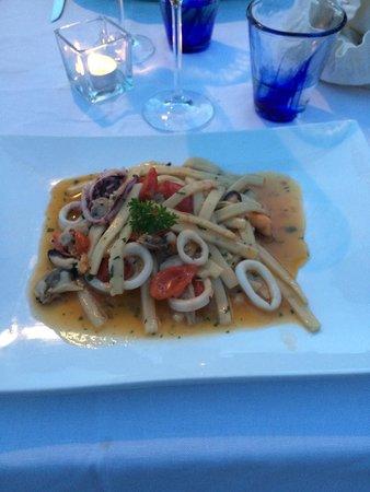 Restaurant Marina Grande: Scialatielli ai frutti di mare