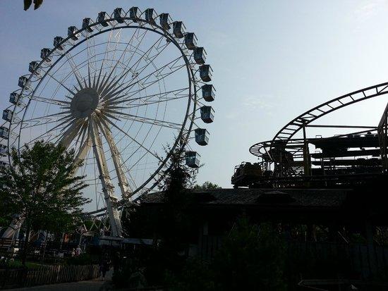 Nigloland : la grande roue