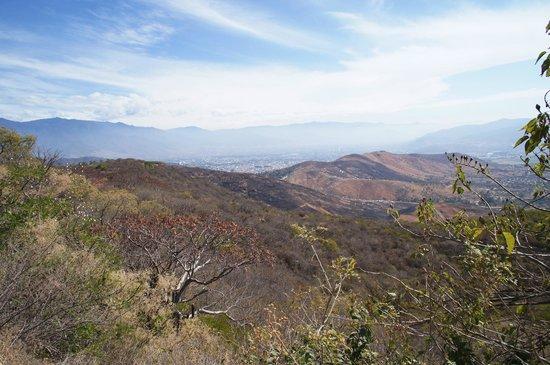 Monte Albán: Vista para os Vales Centrais de Oaxaca