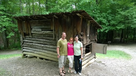Cades Cove Visitor Center: By the smokehouse