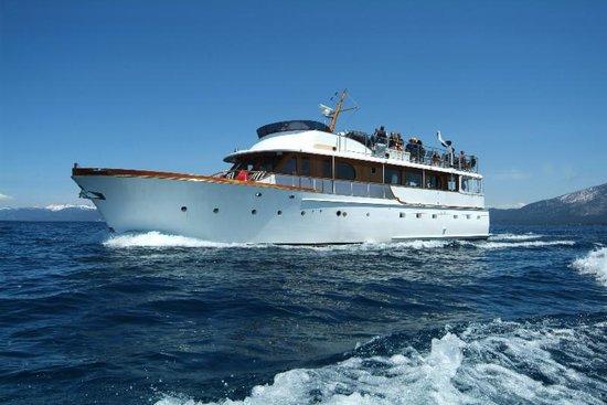 Tahoe Cruises: The Safari Rose Yacht