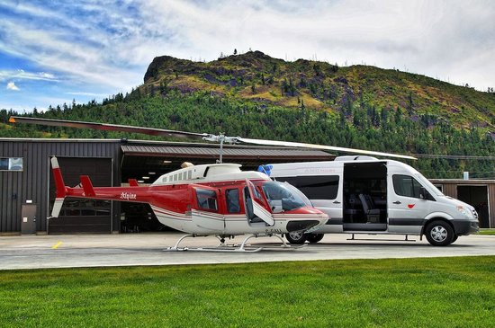 West Kelowna, Canadá: Add a helicopter tour to your day!