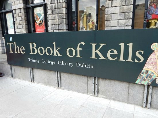 The Book of Kells and the Old Library Exhibition: Entrance