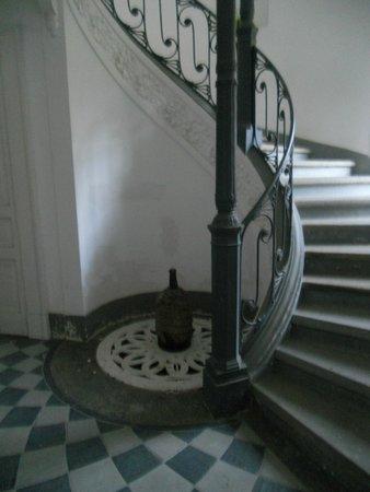 The Secret Garden Relais: spiral staircase