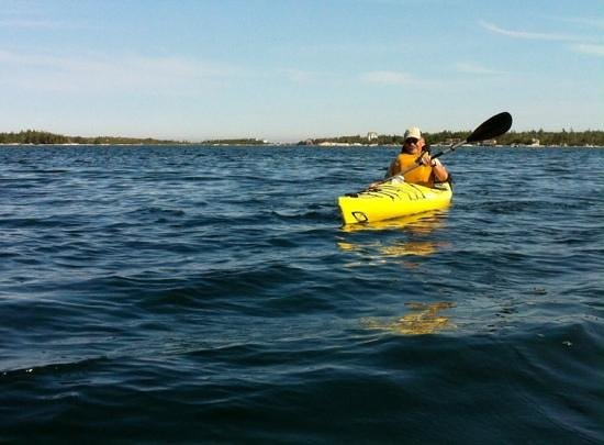 East Coast Outfitters Sea Kayaking: Exhilarating and fun.