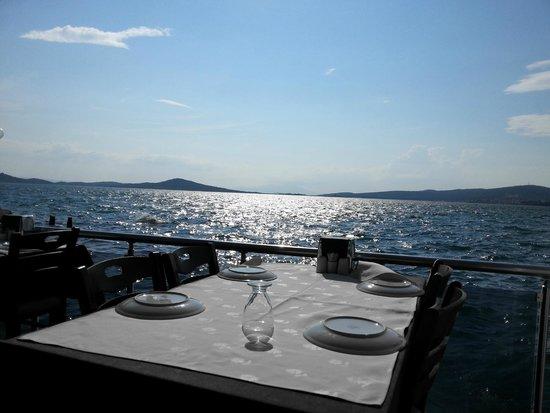 Gumuslu Butik Otel: view from a restaurant near the hotel