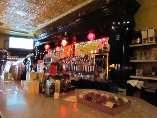 Rockland, มิชิแกน: The antique decor of a late 1890's Inn