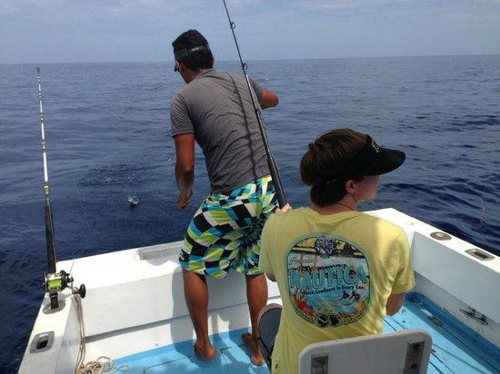 Hotel Riu Palace Costa Rica: Fishing
