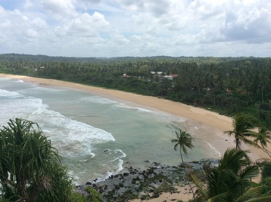 Hotel Panorama: the view to the beach