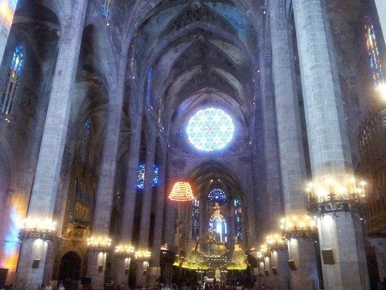Palma Catedral Le Seu: interior