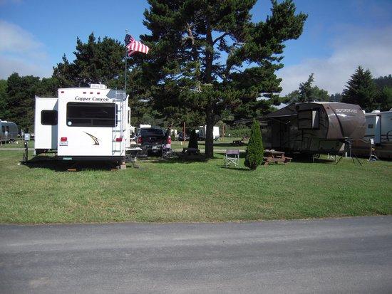 Klamath Camper Corral: Our campsite