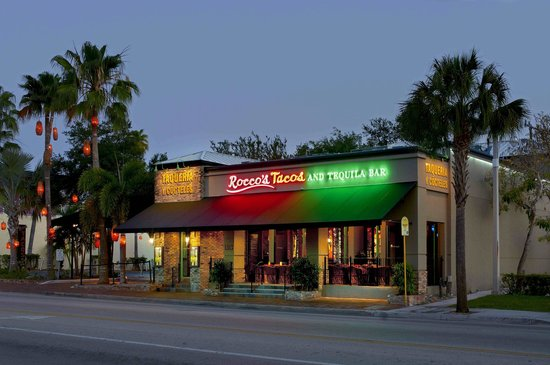 Photo of Mexican Restaurant Rocco's Tacos & Tequila Bar - Fort Lauderdale at 1313 East Las Olas Blvd., Ft. Lauderdale, FL 33301, United States