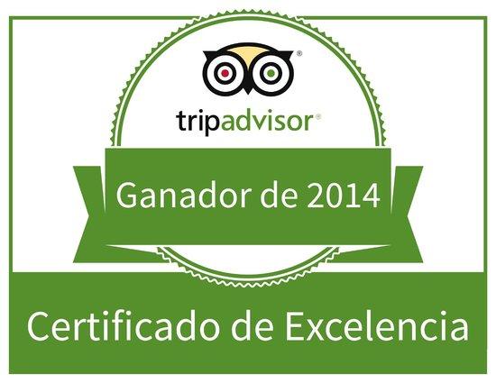 Abrasa BBQ SteakHouse: Certificado 2014 abrasa bbq