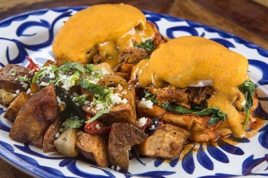 Rocco's Tacos and Tequila Bar: Benedict Azteca