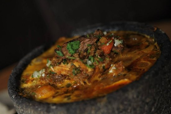 Rocco's Tacos and Tequila Bar: Molcajetes