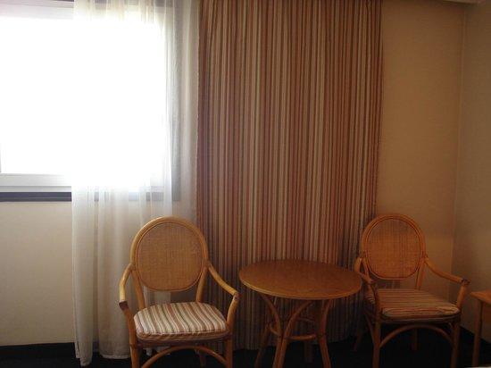 Ramada Sofia: Table in room