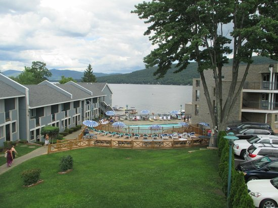 Surfside On The Lake Hotel & Suites : view from balcony