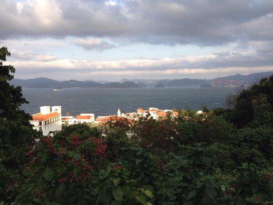 Iojima Island: 展望台から