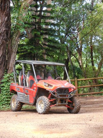 Kipu Ranch Adventures : The vehicle