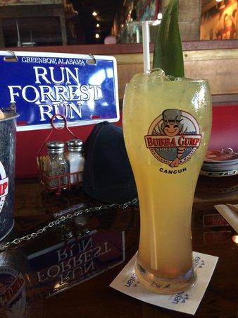 Bubba Gump Shrimp Co. : Bebida con vaso gratis incluido :)