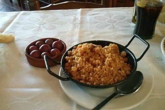 Restaurante Meson La Noria de Dulcinea: Miguas del pastorcillo