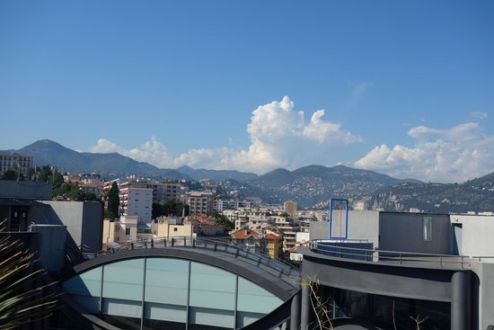 Museum of Modern and Contemporary Art: A view from the rooftop