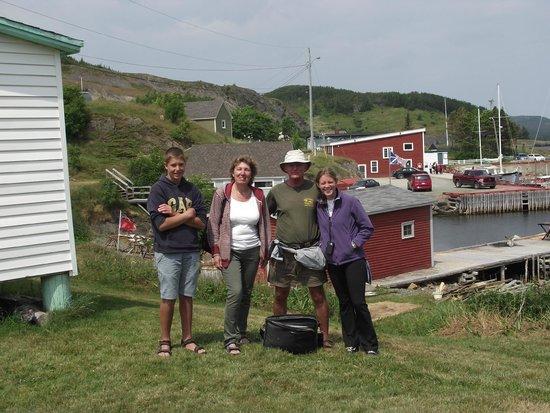 Trinity Historical Walking Tours: Tour July 23, 2014